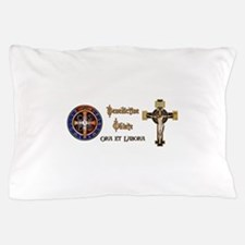 Benedictine Oblate Pillow Case