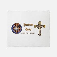 Benedictine Oblate Throw Blanket