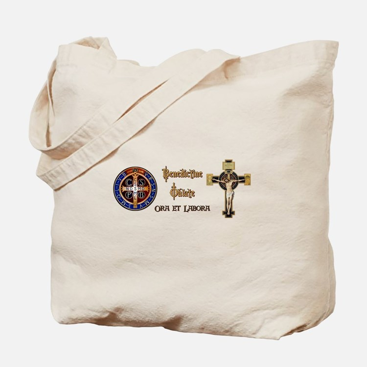 Benedictine Oblate Tote Bag