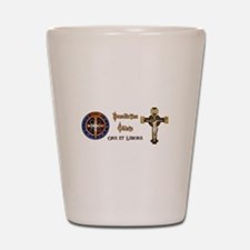Benedictine Oblate Shot Glass