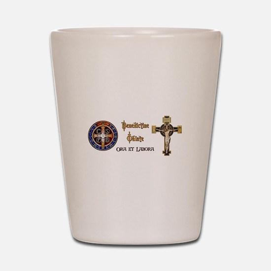 Benedictine Oblate Shot Glass