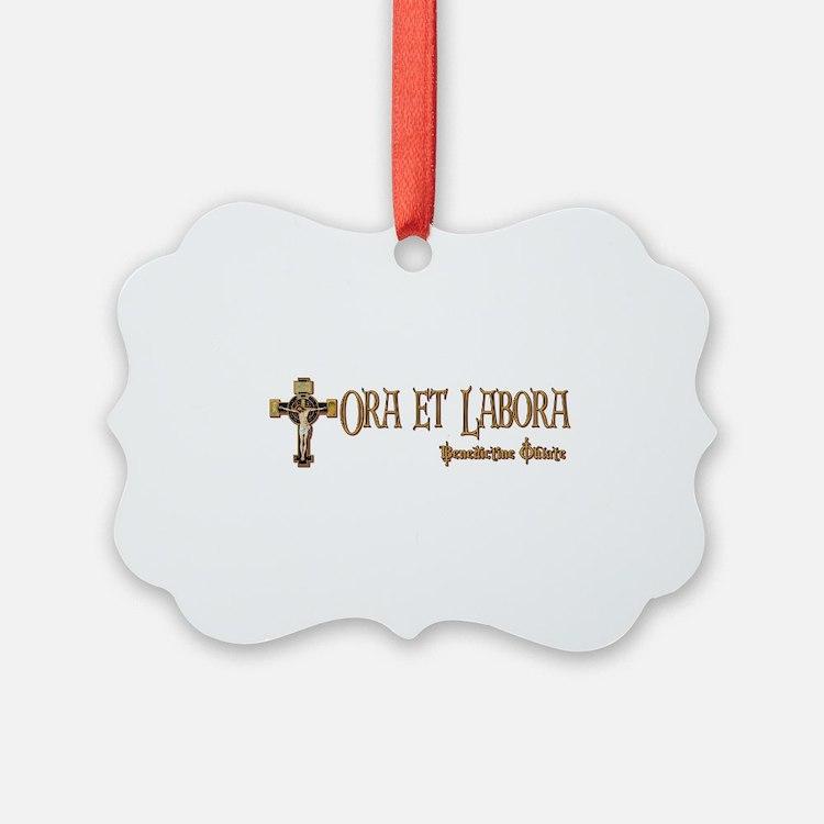 Benedictine Oblate Ornament