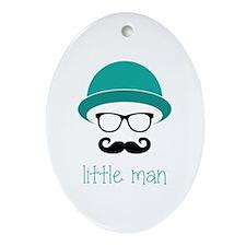 Little Man Ornament (Oval)