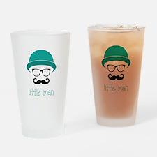 Little Man Drinking Glass