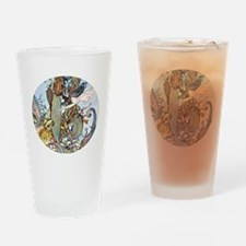 Mermaid-Pirate Treasure Drinking Glass