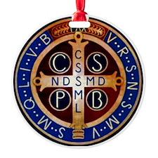Benedictine Medal Ornament