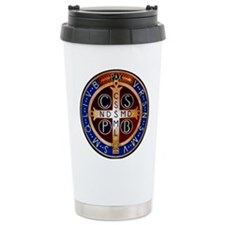 Benedictine Medal Travel Mug
