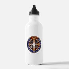 Benedictine Medal Water Bottle