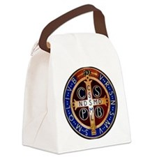 Benedictine Medal Canvas Lunch Bag