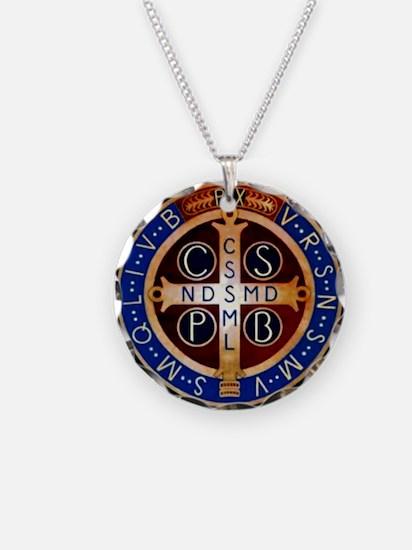 Benedictine Medal Necklace