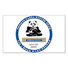 Smoked Panda Logo Decal