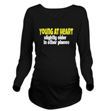 Young At Heart Long Sleeve Maternity T-Shirt