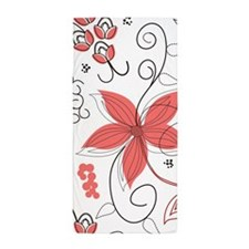 Floral Beach Towel