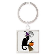 Le Chat Noir - Halloween Witch Keychains