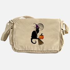 Le Chat Noir - Halloween Witch Messenger Bag