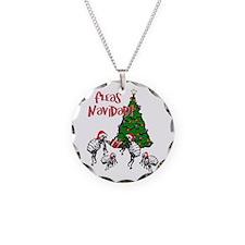 FLEAS NAVIDAD - Christmas Fl Necklace