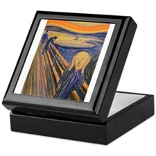 Famous Paintings: The Scream Keepsake Box