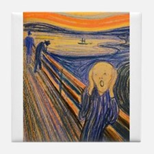 Famous Paintings: The Scream Tile Coaster