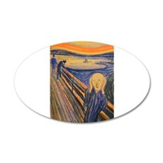 Famous Paintings: The Scream Wall Decal