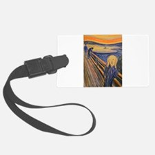 Famous Paintings: The Scream Luggage Tag