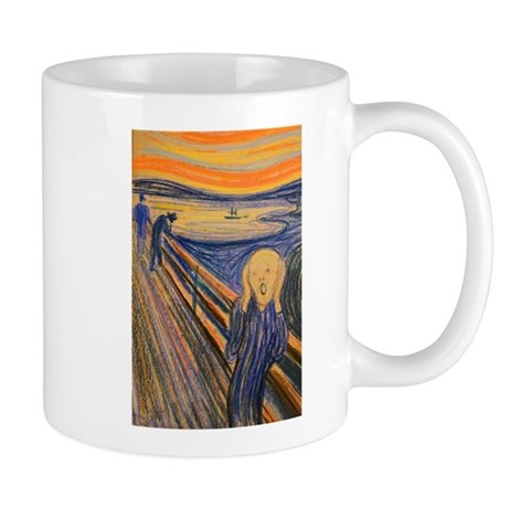 Famous Paintings: The Scream Mugs