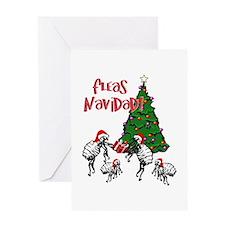 FLEAS NAVIDAD - Christmas Fleas and Greeting Cards