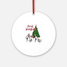FLEAS NAVIDAD - Christmas Fleas a Ornament (Round)