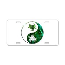 YN Turtle-03 Aluminum License Plate