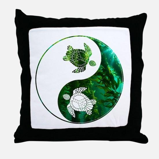 YN Turtle-03 Throw Pillow