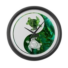 YN Turtle-03 Large Wall Clock