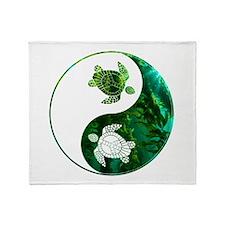 YN Turtle-03 Throw Blanket