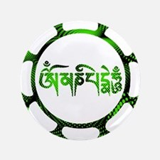 """om mani-4.png 3.5"""" Button (100 pack)"""
