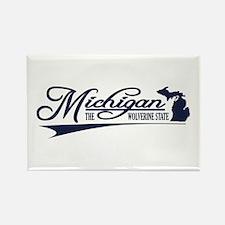 Michigan State of Mine Magnets