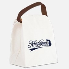 Michigan State of Mine Canvas Lunch Bag