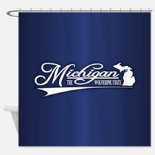 Michigan State of Mine Shower Curtain