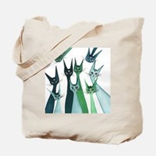 Agra Stray Cats Tote Bag