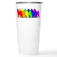 Cute Dogwire Travel Mug
