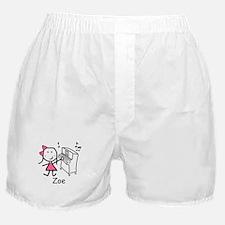 Piano - Zoe Boxer Shorts