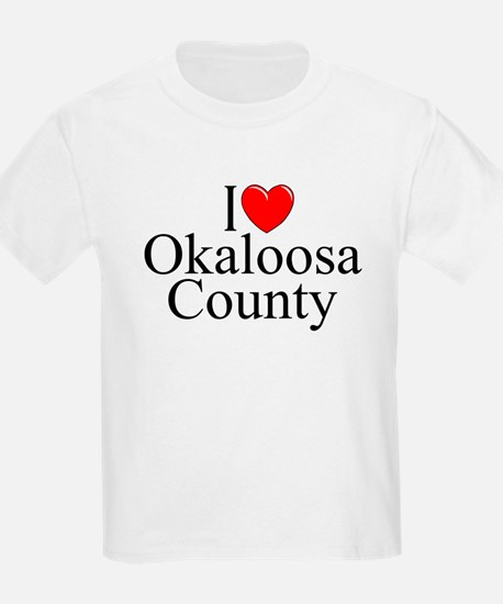 """I Love Okaloosa County"" T-Shirt"