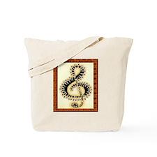 Tote Bag w/ Clef Artwork