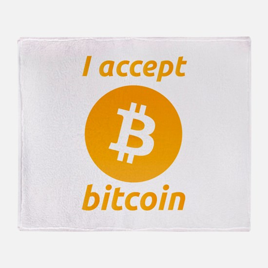 Funny Currency Throw Blanket
