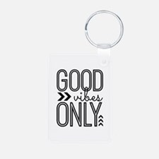 Good Vibes Only Keychains