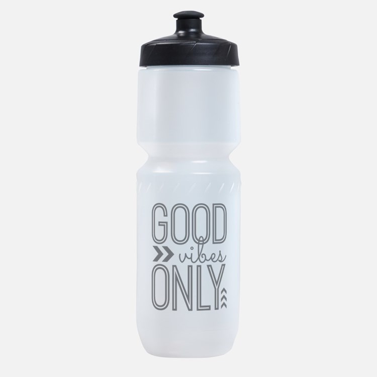 Good Vibes Only Sports Bottle