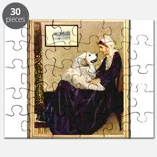 WMom-Great Pyrenees Puzzle
