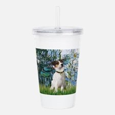 57-Lilies1-JRT3.png Acrylic Double-wall Tumbler