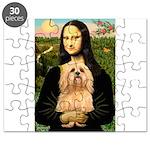 Lhasa Apso 9 - Mona Lisa.png Puzzle