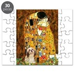 Lhasa Apso 4 - The Kiss.png Puzzle
