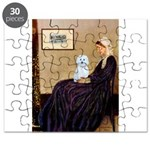 Whistlers Mom / Maltese (B) Puzzle