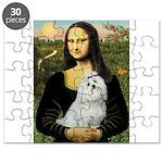 CARD-Mona-Maltese6.tif Puzzle