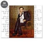 MP-LINCOLN-White Min Poodle 11.png Puzzle